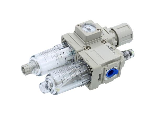 过滤减压阀+油雾器NAC10A~60A