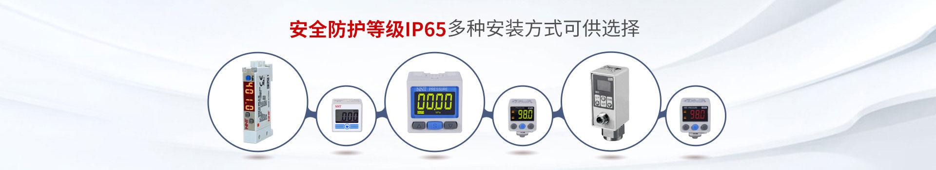 诺能泰压力开关安全防护等级IP65 多种安装方式可供选择