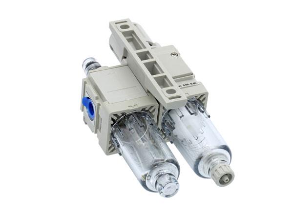过滤器+减压阀+油雾器NAC10A~60A