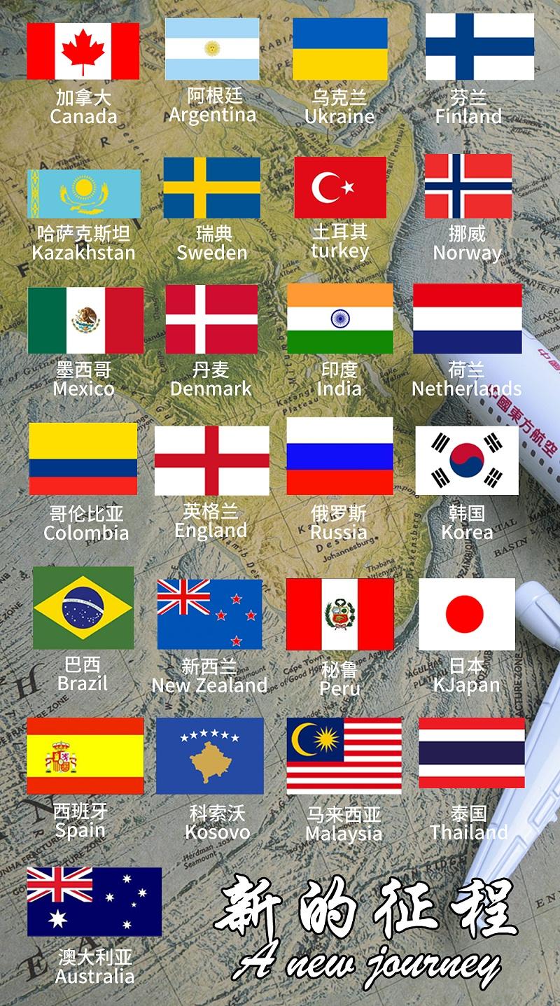 世界地图国旗_01