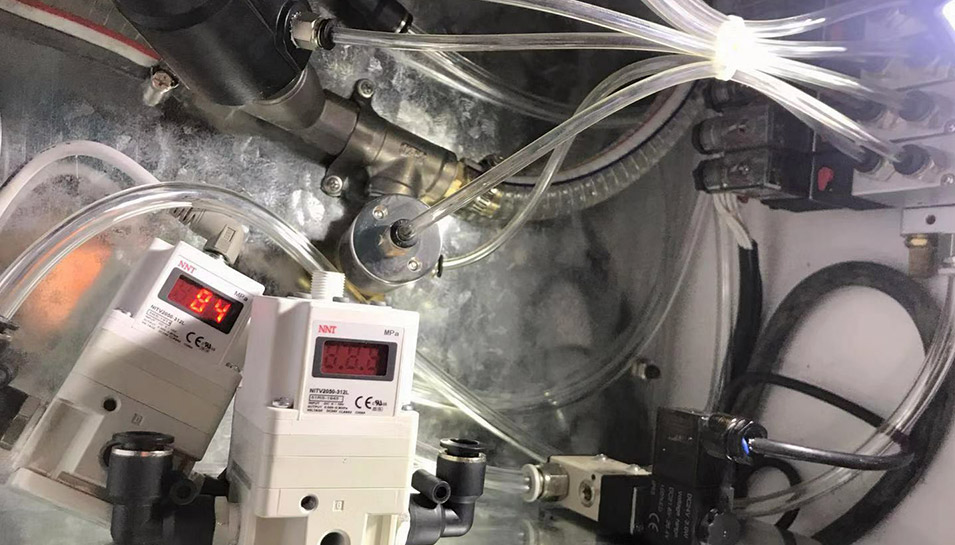 伯恩光学电气比例阀定制工程案例