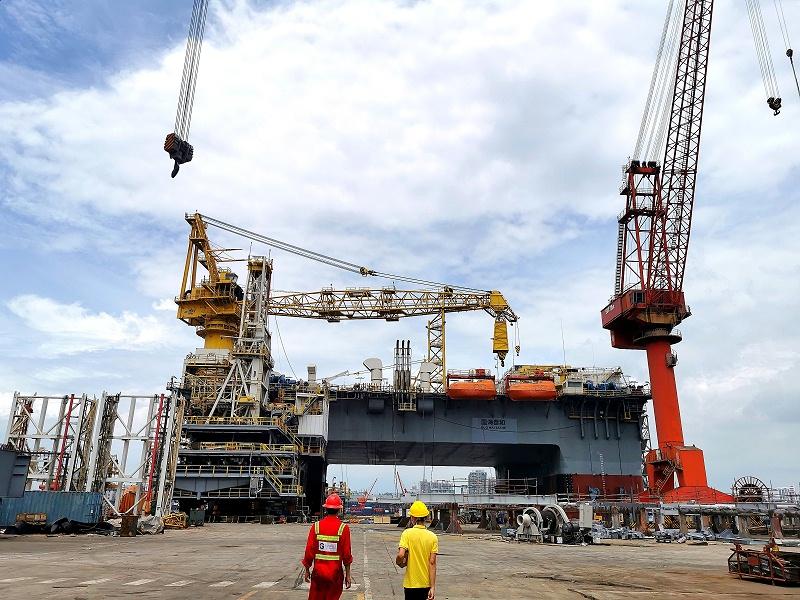 合作伙伴|走进广东中远海运重工船舶制造基地