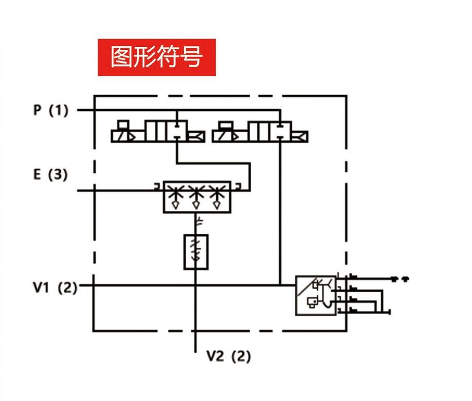 真空发生器ZK2图形符号