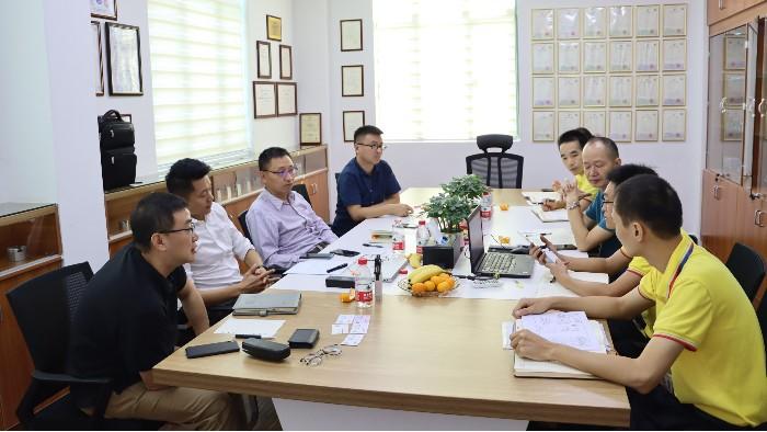 费斯托FESTO莅临广东诺能泰自动化技术有限公司考察